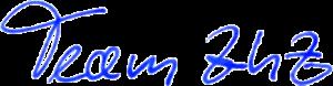 stilisierte Signatur Team ZhZ