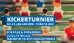 Kickerturnier für Fans & Sponsoren zu Gunsten des NLZ