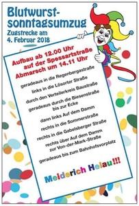 Zugplan 04.02.2018